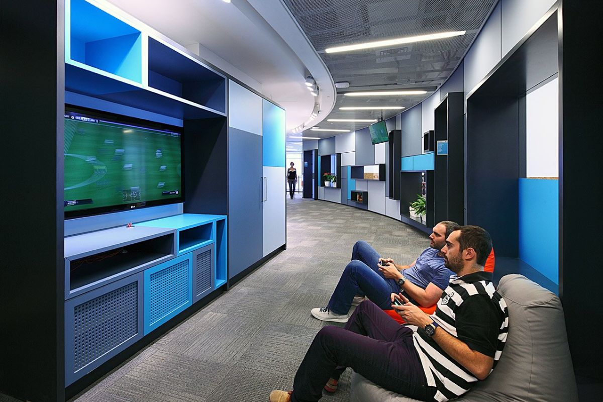 Cool Office Break Rooms - The Playgrounds Of The Adults