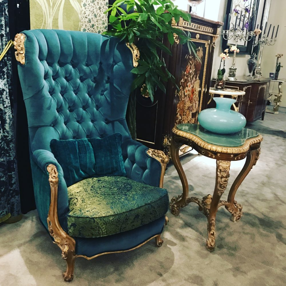 Pics photos rococo style chair sofa rococo - This Modern Take On Rococo Style Has An Organically Shaped Seat And Animalistic Feet