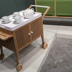 Carlota TunTum Bar Cart on wheels