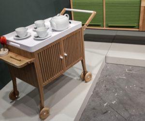 Carlota TunTum Bar Cart on wheels