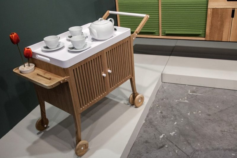Modern Furniture On Wheels Meant To Simplify Your Everyday Life