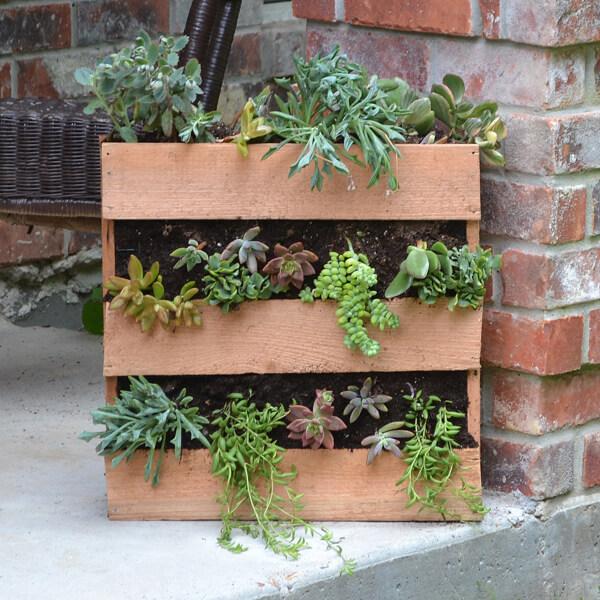 Build A Pallet Planter