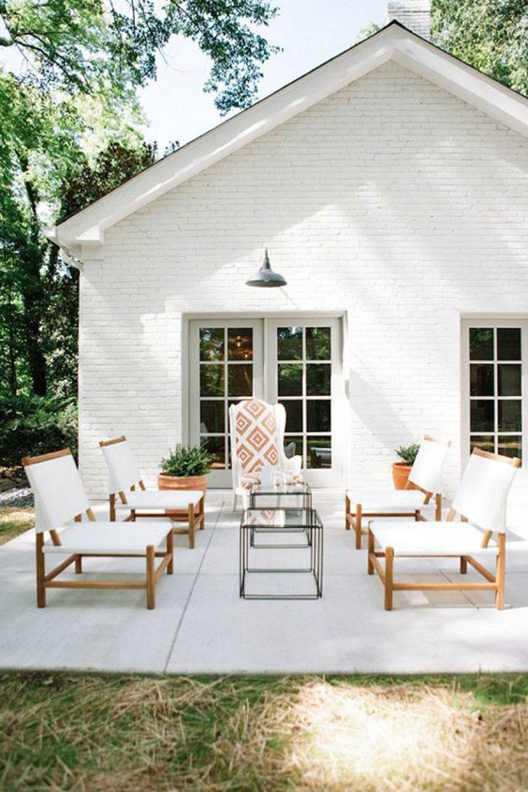 20 white brick exterior walls to envy - White house white trim ...
