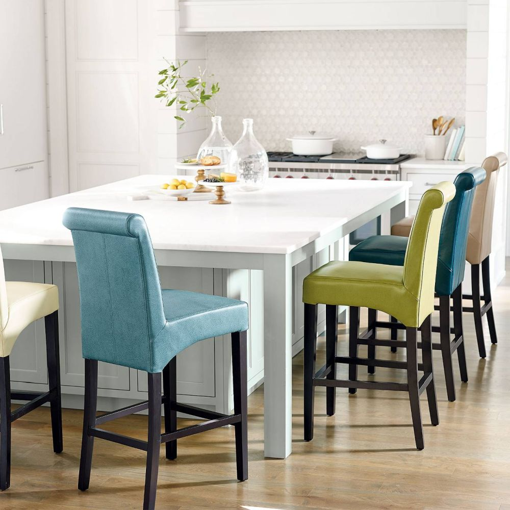 Wondrous 18 Colorful Bar Stools For Your Family Kitchen Ibusinesslaw Wood Chair Design Ideas Ibusinesslaworg