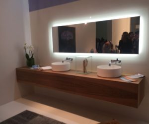 Bathroom Mirror Backlit backlit mirrors - the focal points of the modern bathrooms