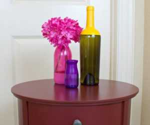 Make Beautiful Two Toned Tinted Glass Decor