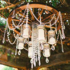 Diy Hanging Mason Jar Outdoor Candle