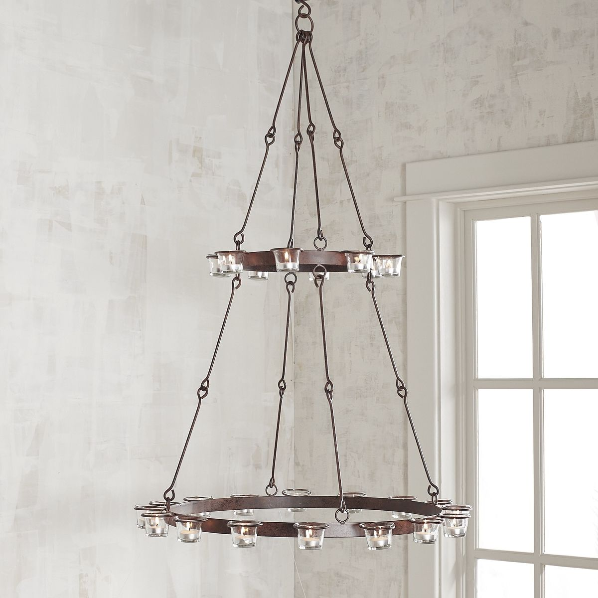 12 hanging candle chandeliers you can buy or diy view in gallery arubaitofo Choice Image