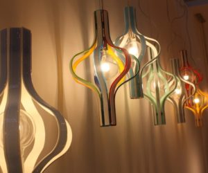 Designers Show Their Finest Lighting Pieces In Glass