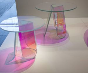 Material Coffee Table.Modern Coffee Tables With Round Glass Tops And Timeless Designs