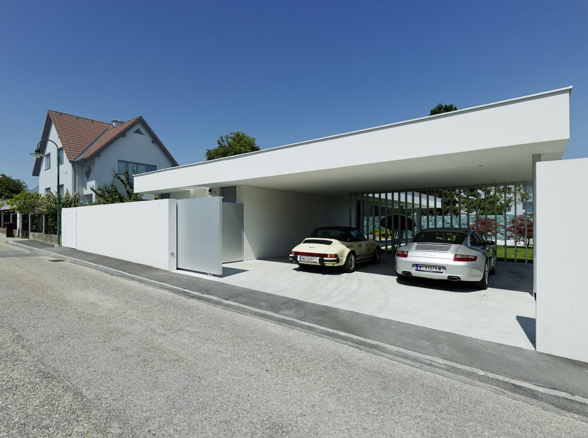 45 car garage concepts that are more than just parking spaces for Car garage design