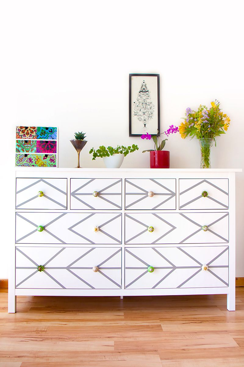 Diy Ikea Dresser Hack With Contact Paper