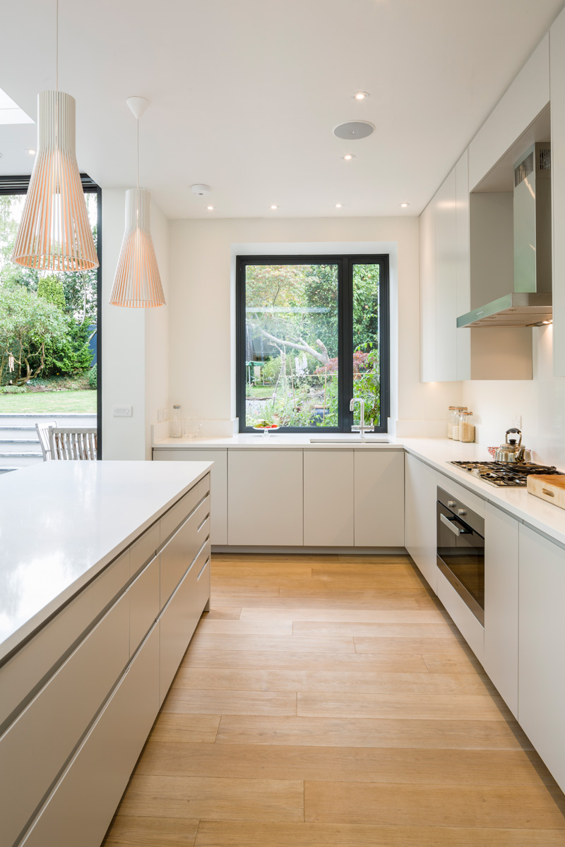 White Kitchen Extensions london house extensions reveal the line between old and new