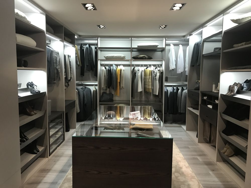 Large Closet open closet ideas - full of surprises with nowhere to hide