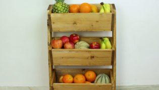 Build a Market-Style Wooden Fruit Holder