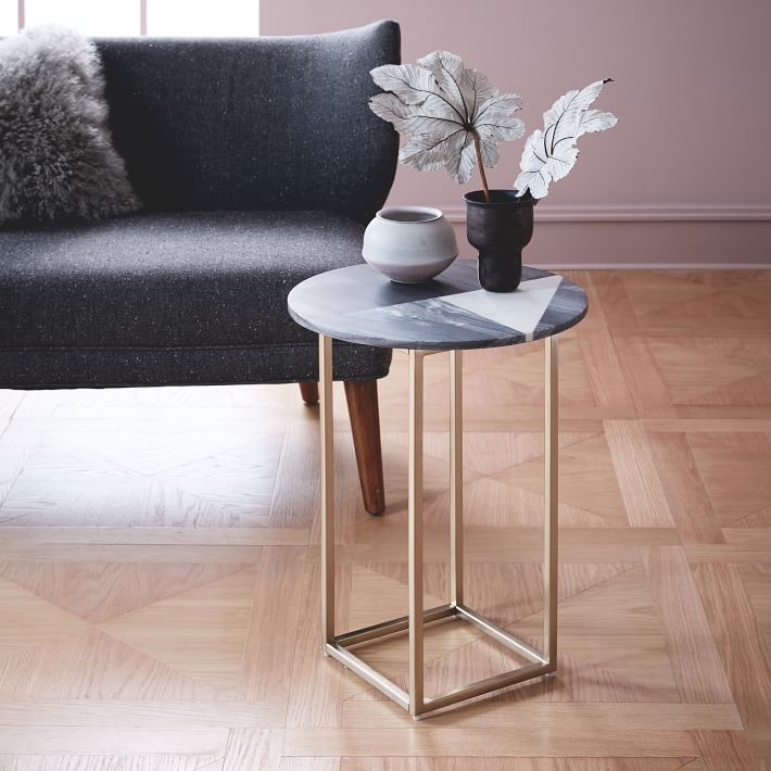 Marble Side Tables Living Room 5 11 Sayedbrothers Nl