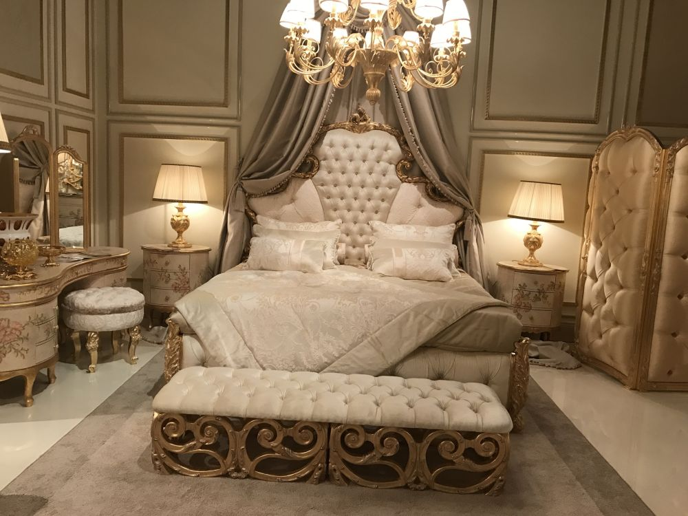 Modern baroque bedroom