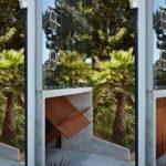 Modern garage door lift up