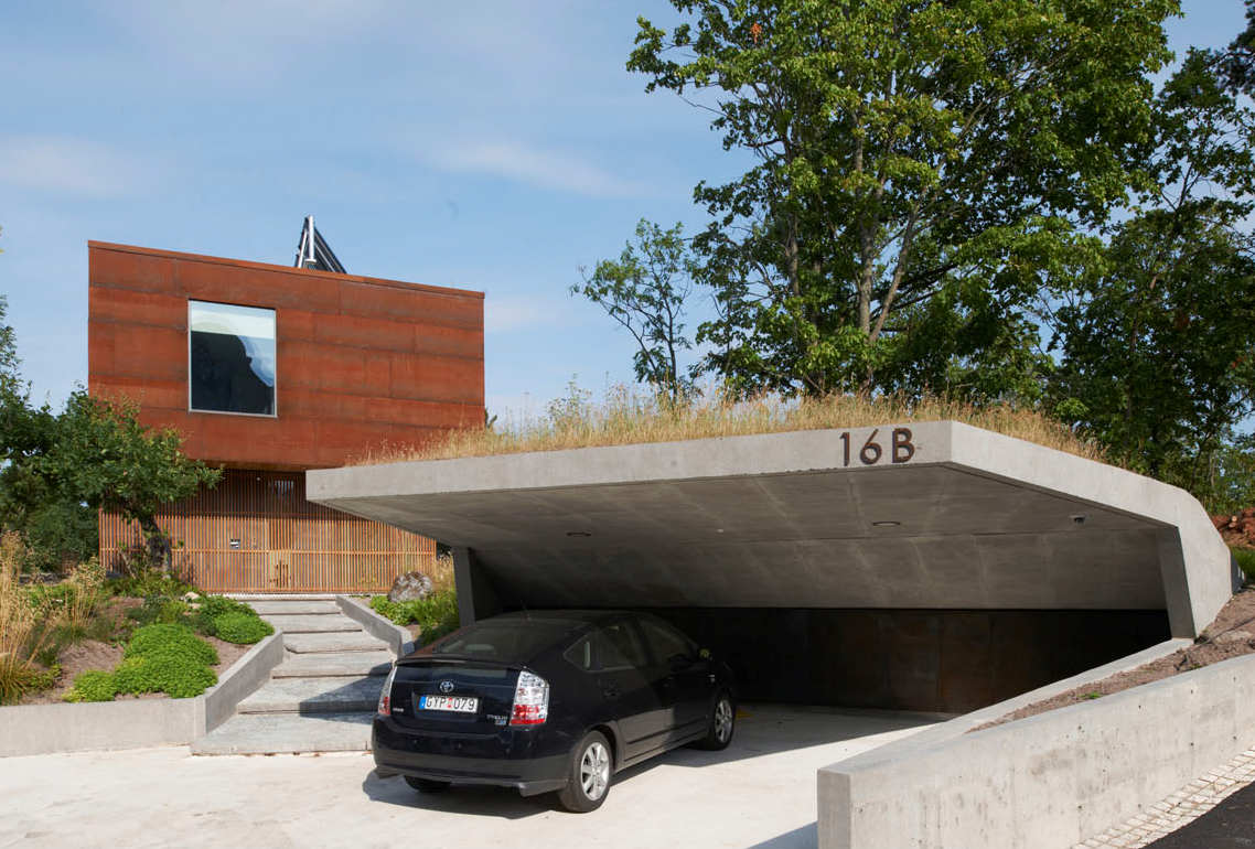 45 car garage concepts that are more than just parking spaces for Unique garage plans