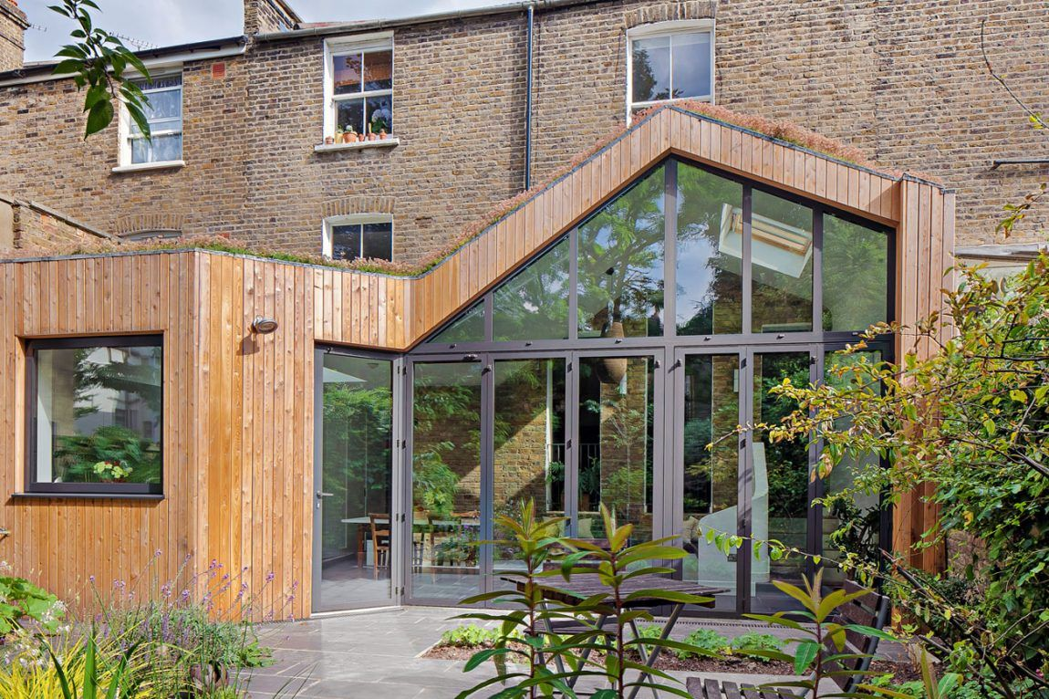 London House Extensions Reveal The Line Between Old And New