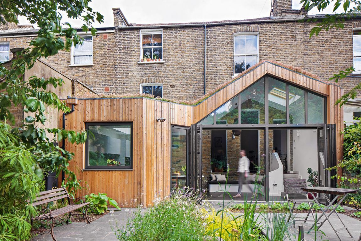 London House Extensions Reveal The Line Between Old And New - House extensions
