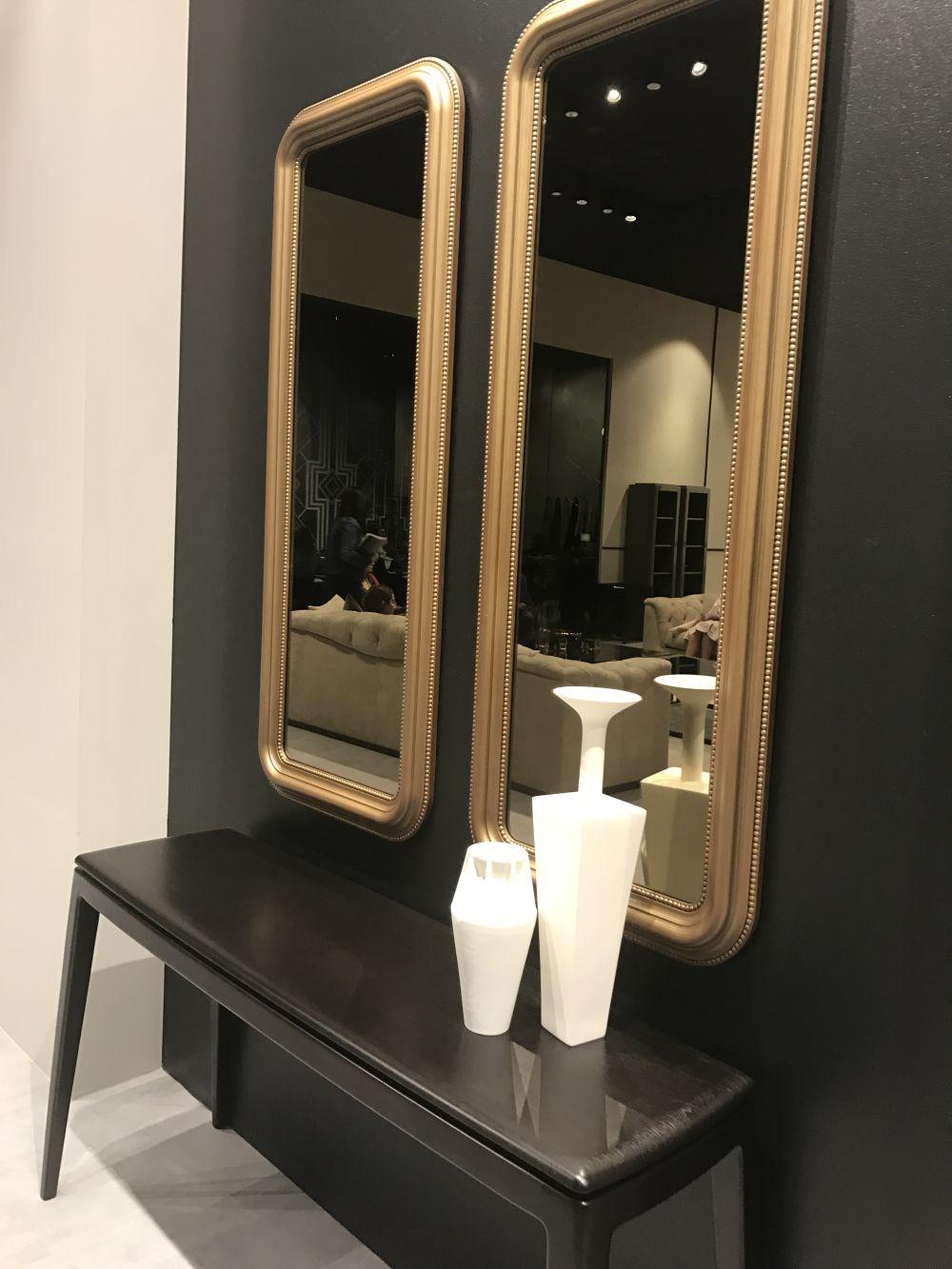 Long Mirror In Entryway