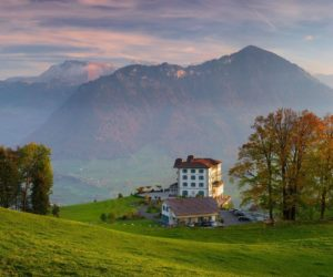 Villa Honegg – A Stunning Boutique Hotel In The Swiss Alps