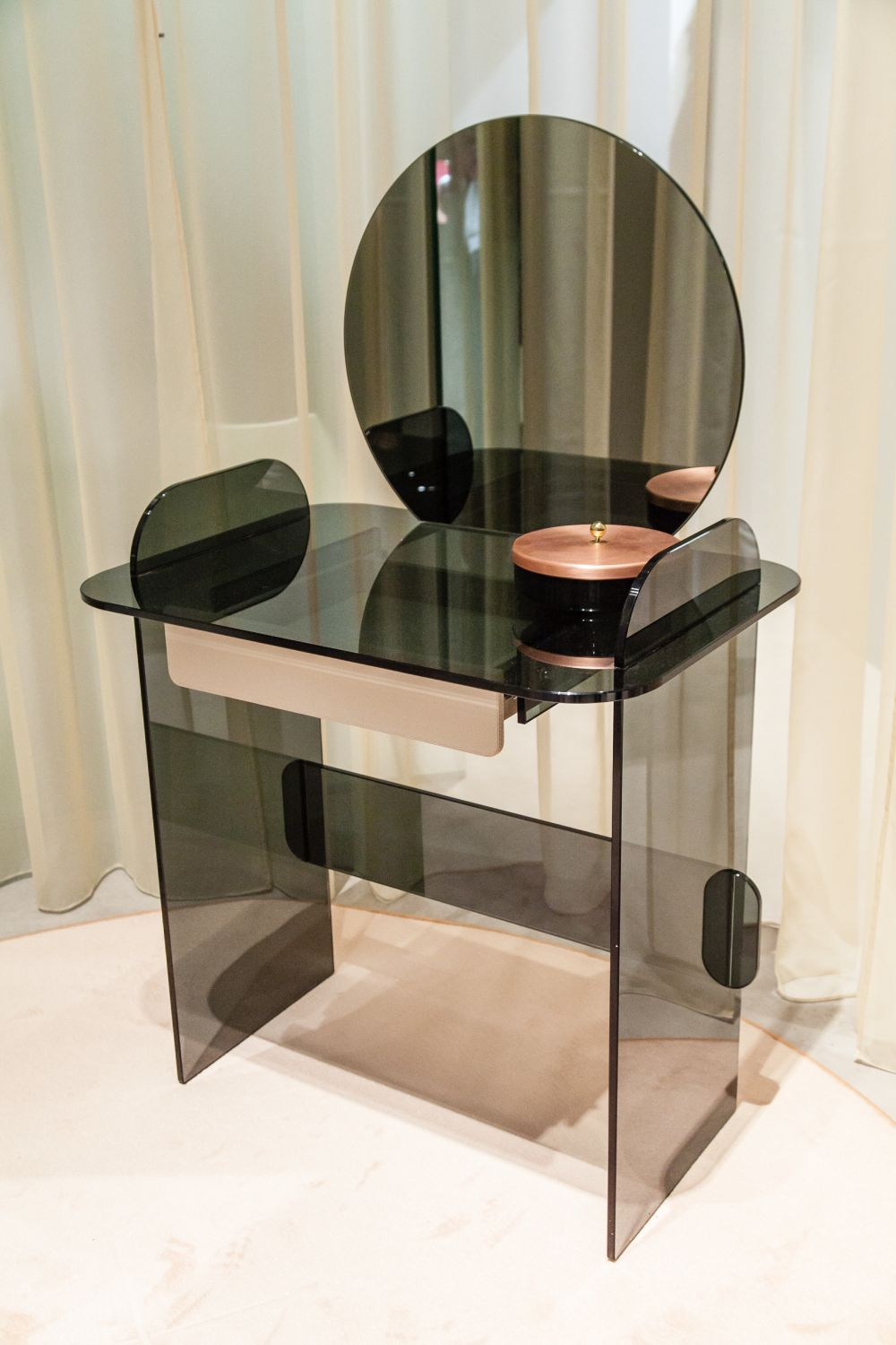 Table Extensible Design Italien glass shokesh design - kumpalo.parkersydnorhistoric