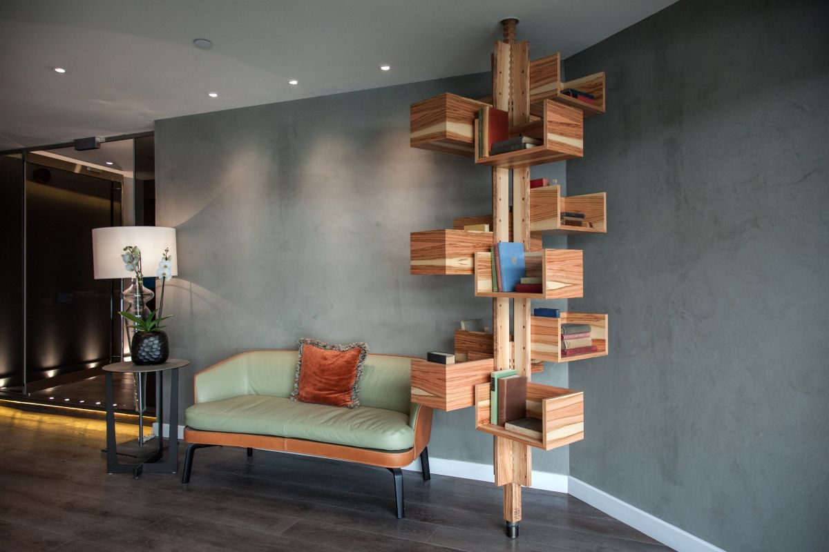 Tree Like Home Library Bookshelf Jpg