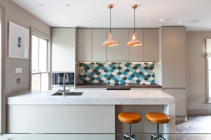 Fish Scale Tiles An Unusual Choice For Homes With Personality