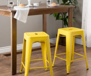 18 Colorful Bar Stools For Your Family Kitchen