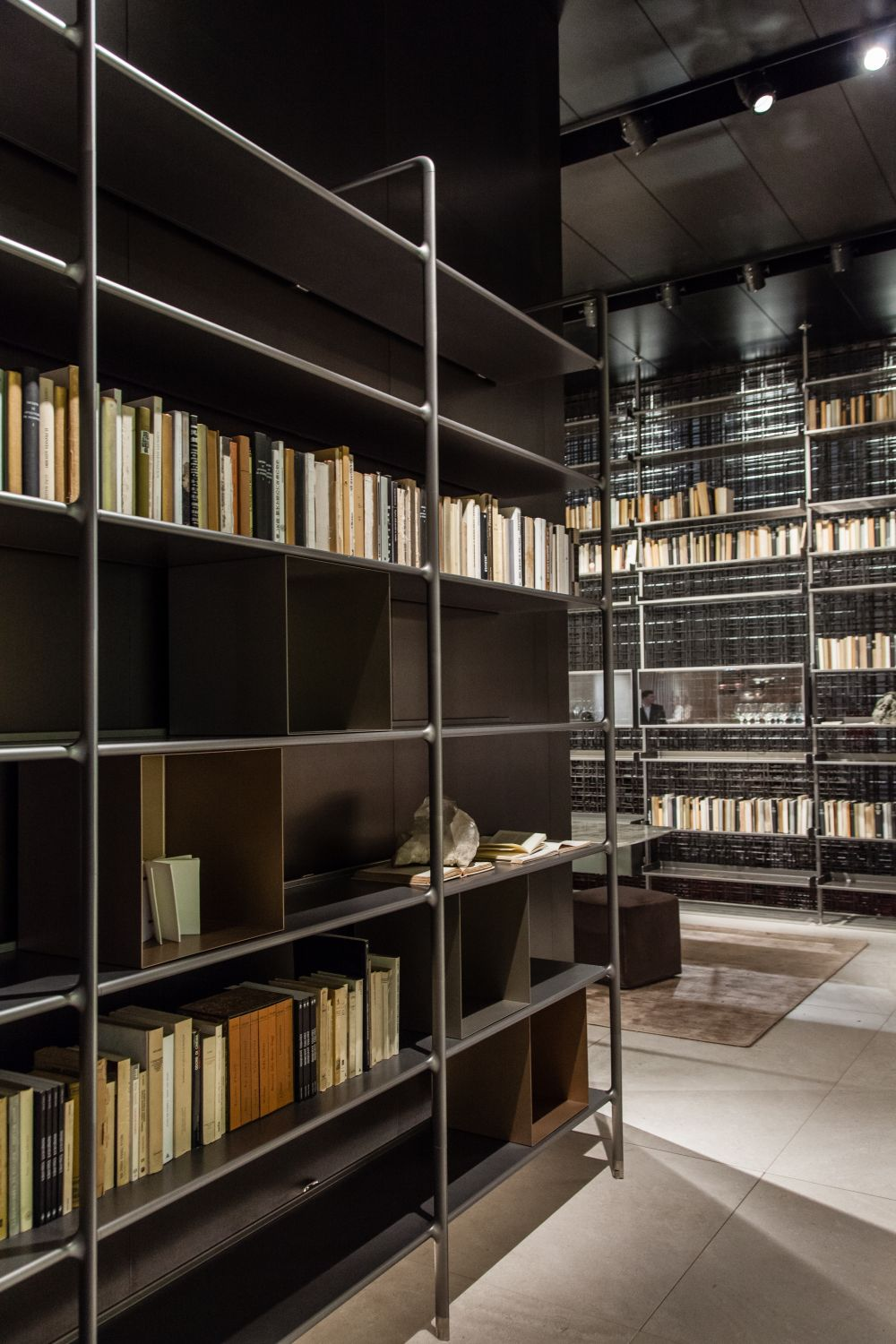 Home Library Bookshelves: So You Can Surround Yourself