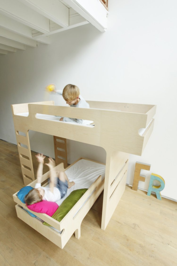 Cool kids beds that makes you wish you could turn back time for Cool furniture for kids