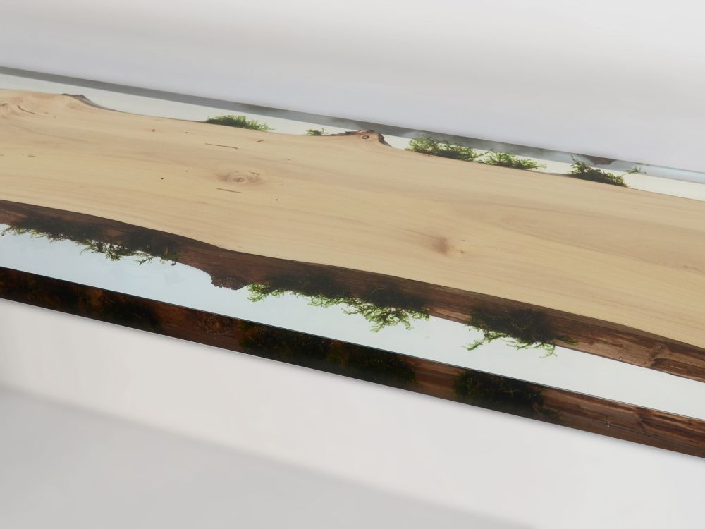 Resin Furniture Forever Encapsulates Beauty In Extraordinary - This amazing resin table is made using 50000 year old wood