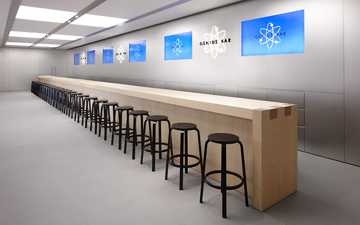 the iconic architecture of the world 39 s major apple stores. Black Bedroom Furniture Sets. Home Design Ideas