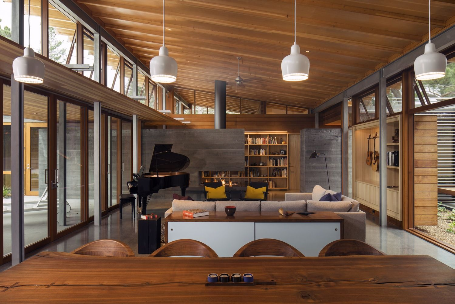 25 of the most beautiful california houses and their stories. Black Bedroom Furniture Sets. Home Design Ideas