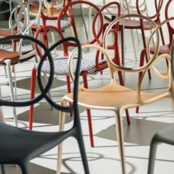 Contemporary Driade sissi ludovica and roberto palomba dining chair