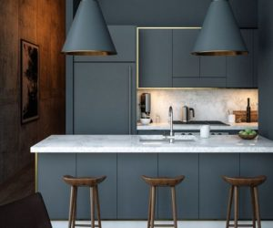 Modern Kitchen Cabinets Colors.Modern Gray Kitchen Cabinets Beat Monotony With Style