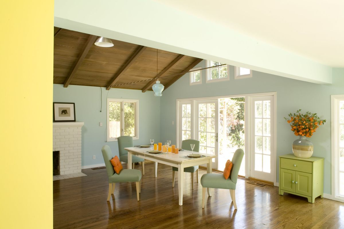 Pastel Tone Good Color To Paint A Kitchen: The Case To Paint Your Whole House Mint Green