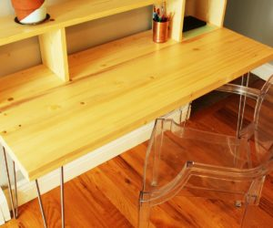 How To Build A Hairpin Legs Desk With Shelf