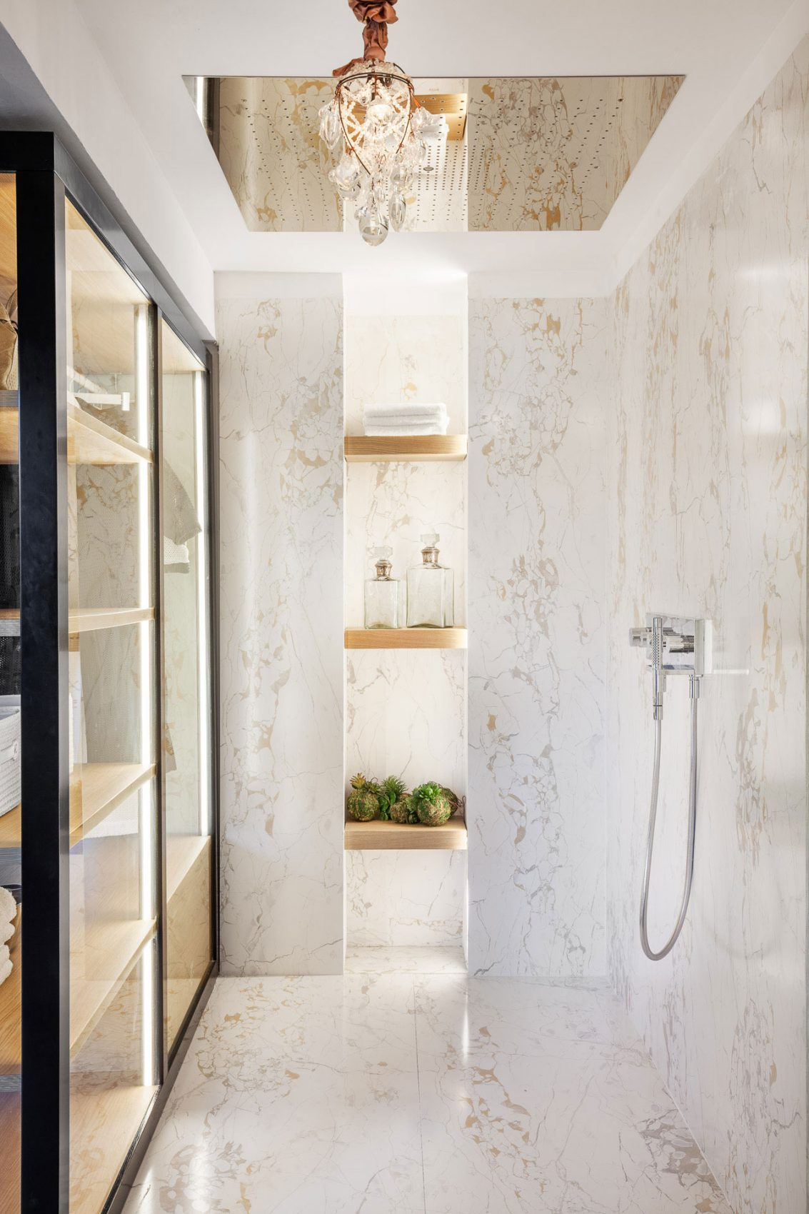 View in gallery & Beautiful Marble Shower Designs And The Decors That Surround Them