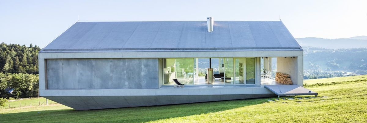 15 gorgeous concrete houses with unexpected designs for Concrete home design ideas