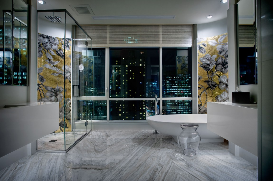 Beautiful marble shower designs and the decors that for Bathroom design montreal