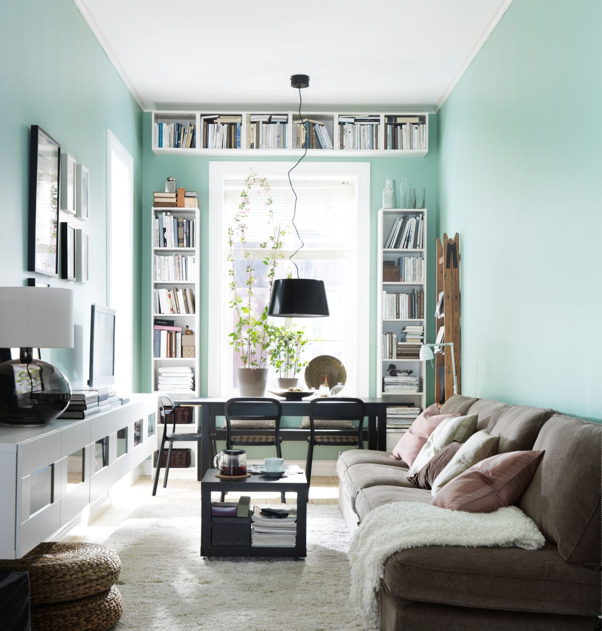 Living room mint green - View In Gallery