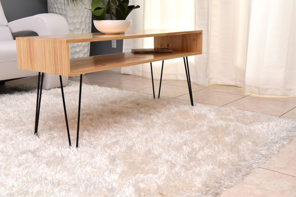 Ordinaire How To Make A Coffee Table With Hairpin Legs