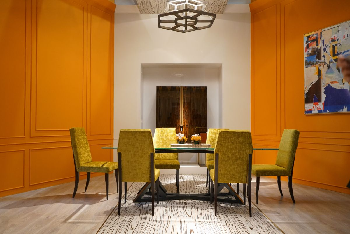 Orange Furniture For Bold And Cheerful