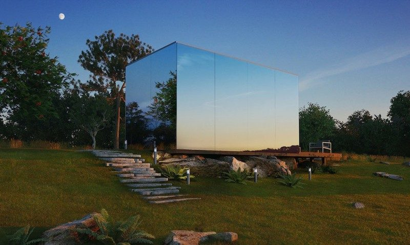 The Prefab Glass Unit That Can Pop Up Anywhere You Want