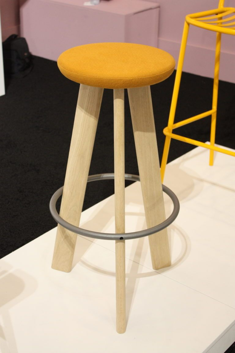 This is a very modern yet comfortable looking stool.