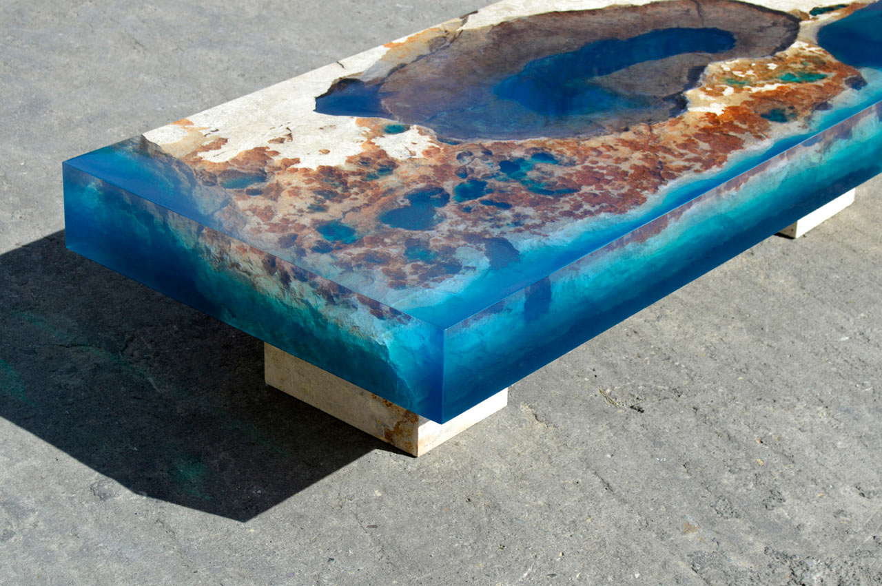 Resin Furniture Forever Encapsulates Beauty In Extraordinary Designs