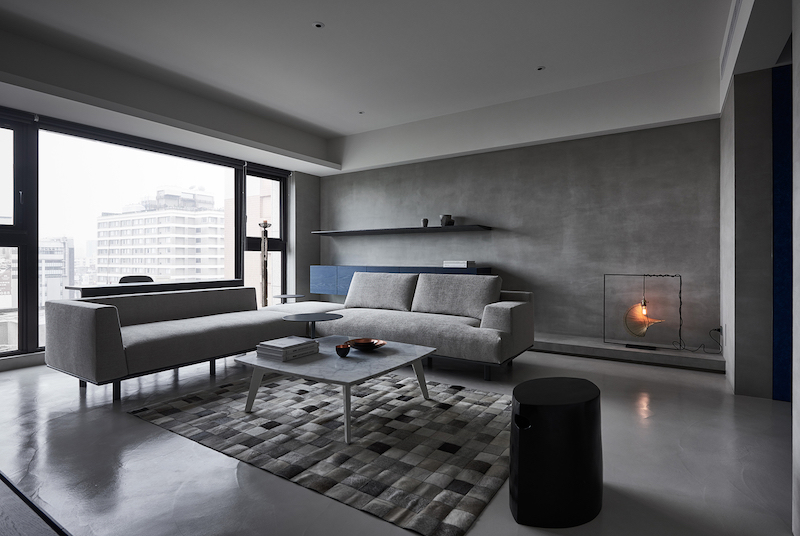 Modern Apartment With A Low Profile Chic And Balanced Interior